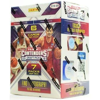 2018/19 Panini Contenders Draft Basketball 7-Pack Blaster Box
