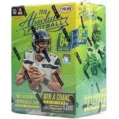 2018 Panini Absolute Football 8-Pack Blaster Box (Lot of 20)