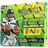 2018 Panini Absolute Football 4-Pack Ultra Box