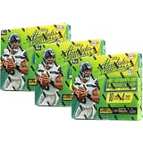 2018 Panini Absolute Football 4-Pack Ultra Box (Lot of 3)