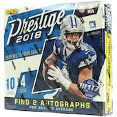 2018 Panini Prestige Football Mega Box