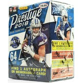 2018 Panini Prestige Football 8-Pack Blaster Box