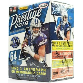 2018 Panini Prestige Football 8-Pack Blaster Box