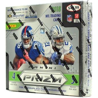 2018 Panini Prizm Football 5-Pack Mega Box