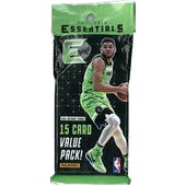 2017/18 Panini Essentials Basketball Jumbo Pack (Lot of 12)