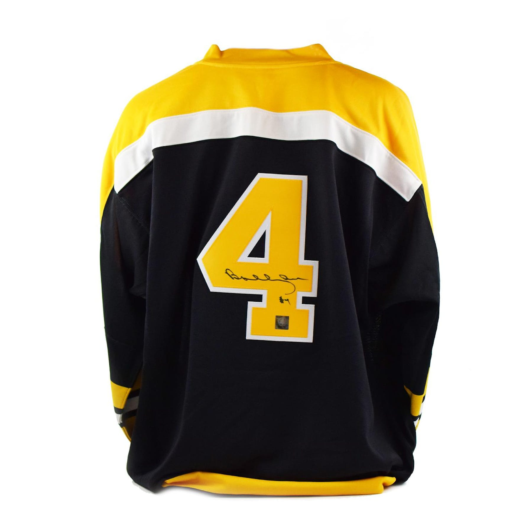 lowest price 54fb1 51509 Bobby Orr Autographed Mitchell & Ness Boston Bruins Jersey (Great North  Road COA)