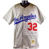 Sandy Koufax Autographed Los Angeles Dodgers Mitchell & Ness Jersey (Online Authentics)