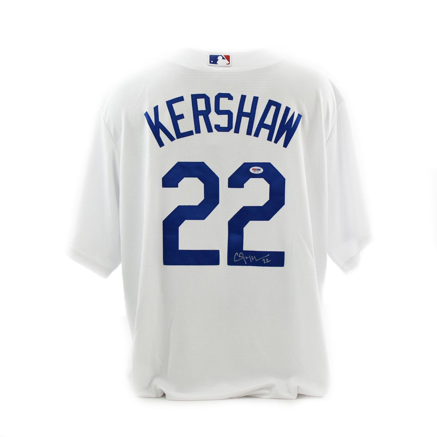 quality design f712b a451c Clayton Kershaw Autographed Los Angeles Dodgers Majestic Baseball Jersey  (PSA/DNA)