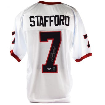 Matthew Stafford Autographed Georgia Bulldogs Football Jersey (PSA/DNA)