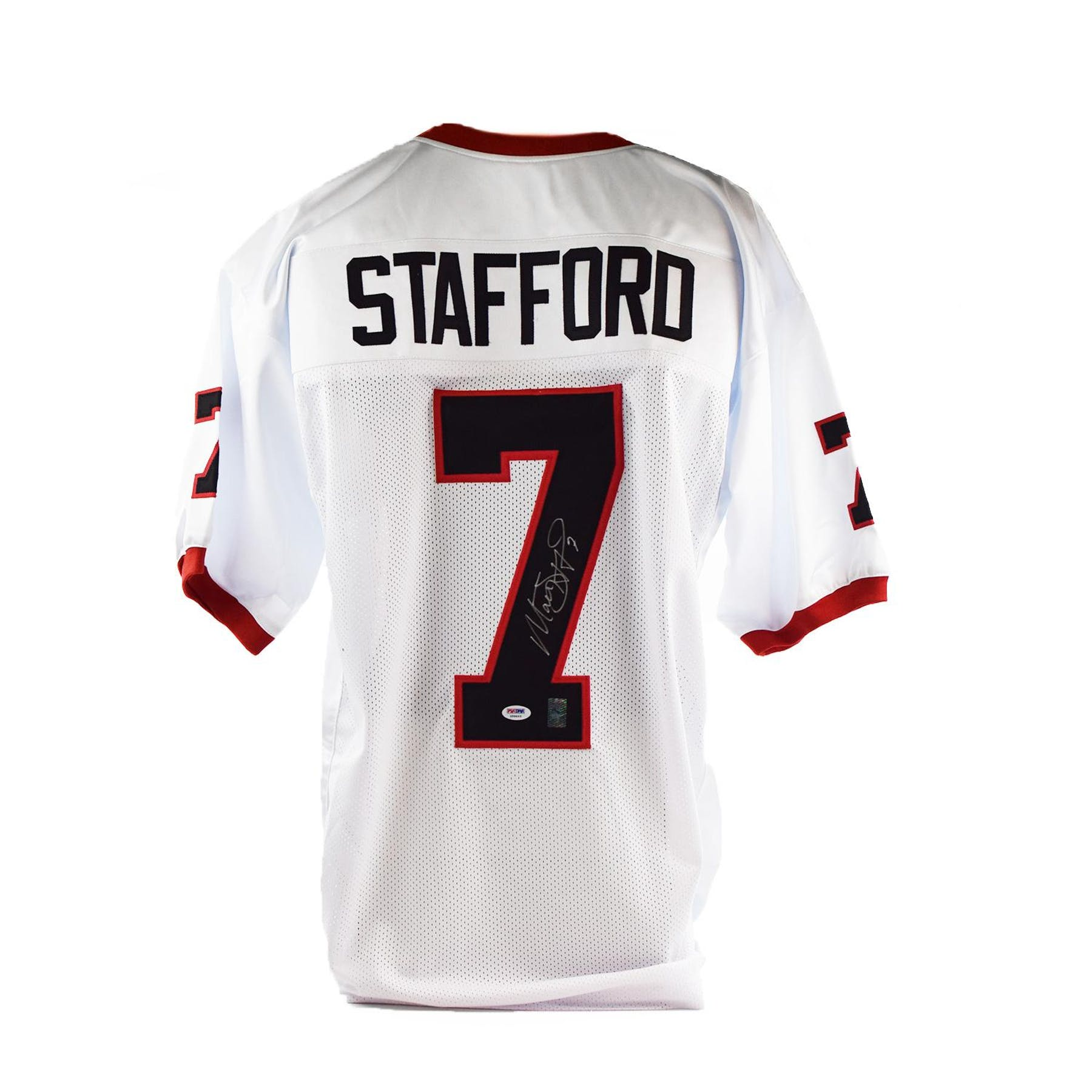 new style b68ff 1dce9 Matthew Stafford Autographed Georgia Bulldogs Football Jersey (PSA/DNA)