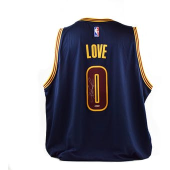Kevin Love Autographed Cleveland Cavaliers Adidas Basketball Jersey (UDA)
