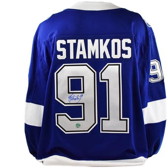 Steven Stamkos Autographed Tampa Bay Lightning Fanatics Hockey Jersey (AJ's Sportsworld)