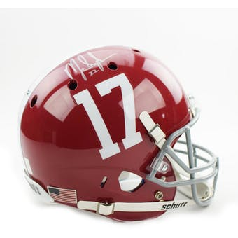 Mark Ingram Autographed University of Alabama Replica Football Helmet (GTSM Hologram)