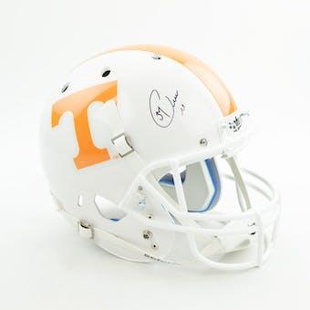 Peerless Price Autographed Tennessee Volunteers Replica Full Size Football Helmet (Dave & Adam's COA)