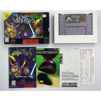 Super Nintendo (SNES) Lost Vikings 2 Boxed Complete