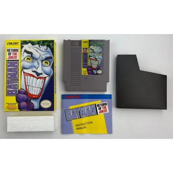 Nintendo (NES) Batman Return of the Joker Boxed Complete