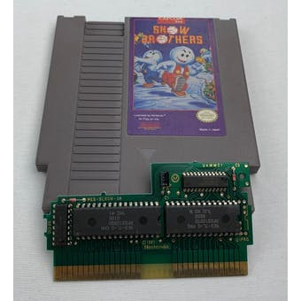 Nintendo (NES) Snow Brothers Cartridge