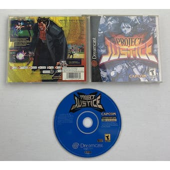 Sega Dreamcast Project Justice Boxed Complete