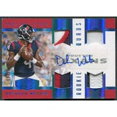 2017 Panini Plates and Patches #212 Deshaun Watson Rookie Patch Auto #09/10