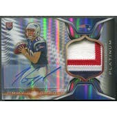 2014 Topps Platinum #ARPJG Jimmy Garoppolo Refractor Rookie Patch Auto