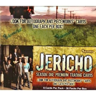 Jericho Season One Hobby Box (2007 InkWorks)