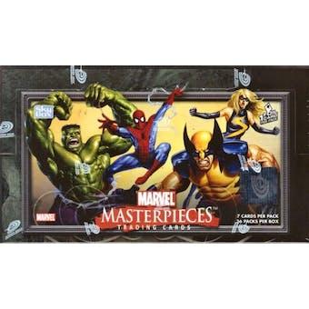 Marvel Masterpieces Hobby Box (2007 Upper Deck)