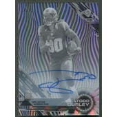 2015 Topps High Tek #108 Todd Gurley Black Galactic Diffractor Rookie Auto #1/1