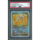 Pokemon Legendary Collection Reverse Foil Hitmonlee 13/110 PSA 5