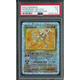 Pokemon Legendary Collection Reverse Foil Hitmonlee 13/110 PSA 5