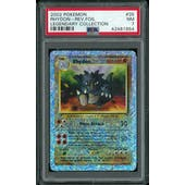 Pokemon Legendary Collection Reverse Foil Rhydon 35/110 PSA 7