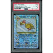 Pokemon Legendary Collection Reverse Foil Fearow 42/110 PSA 6