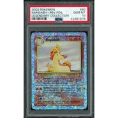 Pokemon Legendary Collection Reverse Foil Rapidash 60/110 PSA 10 GEM MINT