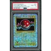 Pokemon Legendary Collection Reverse Foil Voltorb 97/110 PSA 8