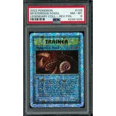 Pokemon Legendary Collection Reverse Foil Mysterious Fossil 109/110 PSA 8