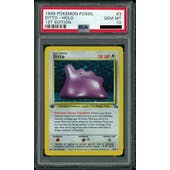 Pokemon Fossil 1st Edition Ditto 3/62 PSA 10 GEM MINT