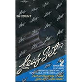 1991 Leaf Series 2 Baseball Wax Box (Reed Buy)