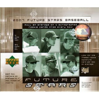 2007 Upper Deck Future Stars Baseball Hobby Box