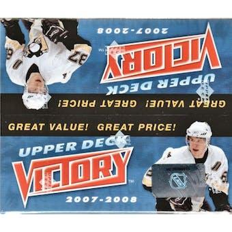 2007/08 Upper Deck Victory Hockey Box