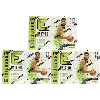 2017/18 Panini Essentials Basketball 7-Pack Blaster Box (Lot of 3)