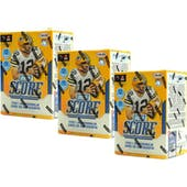 2018 Panini Score Football 11-Pack Blaster Box (Lot of 3)