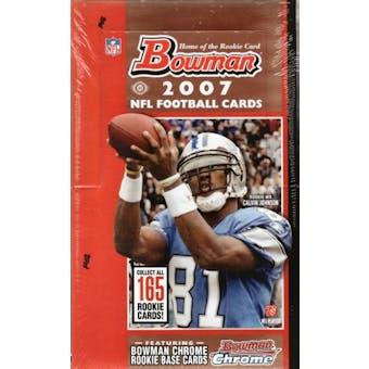 2007 Bowman Football Hobby Box
