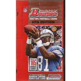 2007 Bowman Football Jumbo Box
