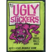 1974 Topps Ugly Stickers Pack