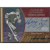 2009/10 OPC Premier #PSWG Wayne Gretzky Signings Gold Auto #13/15