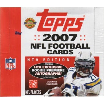 2007 Topps Football Jumbo Box