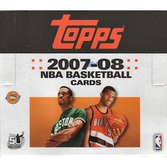 2007/08 Topps Basketball Jumbo Box