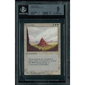 Magic the Gathering Alpha Conversion BGS 9 (9.5, 8.5, 9, 9)