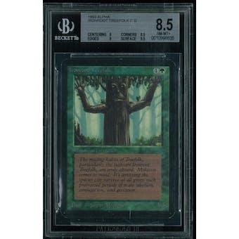 Magic the Gathering Alpha Ironroot Treefolk BGS 8.5 (9, 8.5, 9, 8.5)