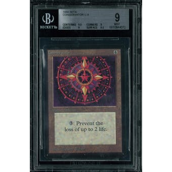 Magic the Gathering Beta Conservator BGS 9 (9.5, 9, 9, 9.5)