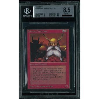 Magic the Gathering Beta Dwarven Warriors BGS 8.5 (8, 8.5, 9, 9.5)